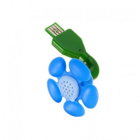 Diffuseur Fleur USB Bleue - DIRECT NATURE
