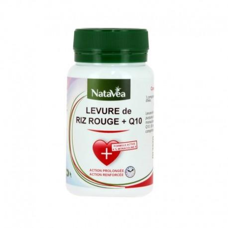 Levure de Riz Rouge + Q10 - Complément alimentaire NATAVÉA