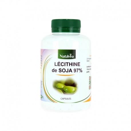 Lécithine soja en capsules - NATAVÉA