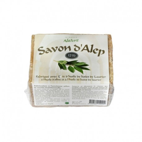 Savon d'Alep 12 % - DIRECT NATURE