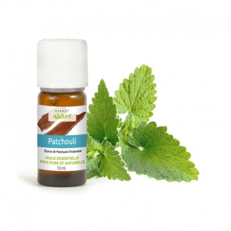 Huile essentielle de Patchouli - DIRECT NATURE