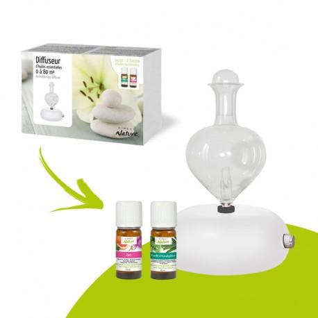 Coffret Diffuseur Aromathérapie - DIRECT NATURE