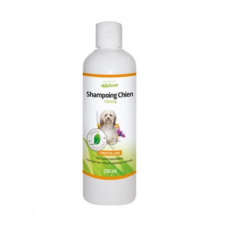 Shampooing chien poils longs - DIRECT NATURE - Flacon de 250ml