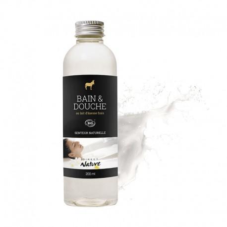 Bain & Douche au lait d'ânesse frais - DIRECT NATURE
