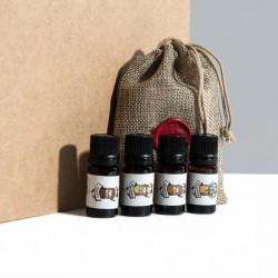 Pack découverte d'huiles pour la barbe - CA VA BARBER