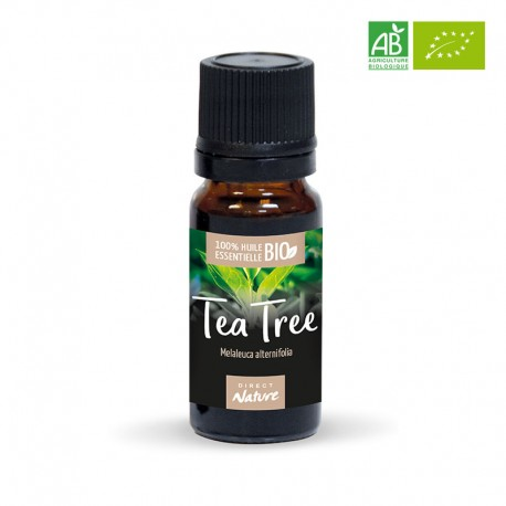 Huile essentielle de Tea Tree certifiée BIO - DIRECT NATURE