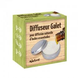 Diffuseur d'huiles essentielles GRAND GALET FEUILLES - DIRECT NATURE