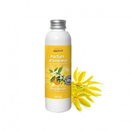 Eco-Recharge parfum d'ambiance Fleurs des îles - DIRECT NATURE