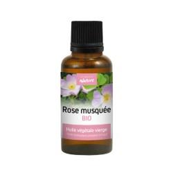 Huile végétale vierge - ROSE MUSQUÉE BIO - DIRECT NATURE