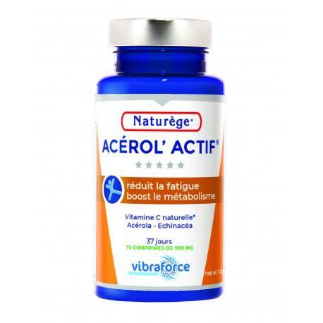 Acérol'actif - Complément alimentaire NATURÈGE